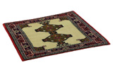 Jozan - Sarouk Persian Carpet 78x83 - Picture 1